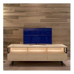 Commerce de gros Sgbq007 salon moderne de meubles en bois meuble TV
