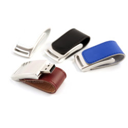 새로운 가죽 금속 USB 섬광 드라이브 16GB PU 가죽 64GB 32GB 16GB 8GB USB 2.0 저속한 운전사 64GB 펜 드라이브 U 디스크 섬광 드라이브 선물