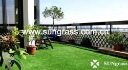 人工30mmの泥炭の本当の庭か景色または催し物または合成物質またはレクリエーションの泥炭