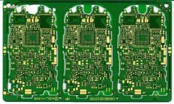 産業制御および器械の液浸の金のためのを経て埋められるの12の層のプリント基板およびHASLの重い銅そして高いインピーダンスPCB