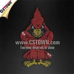 Ontwerpen van de Moeilijke situatie van de Douane van de Overdracht van de T-shirt van Rhinestud de Hoofd Hete