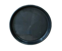 La más alta calidad gran galón maceta negra de 25 galones de plástico de la Guardería Maceta