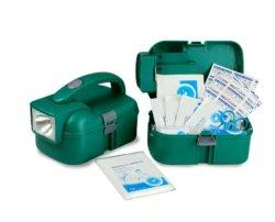 CE approbation FDA Torche étanche First Aid Kit lampe de poche boîte de premiers secours