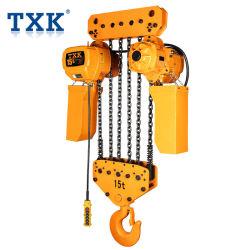 15t тележки типа электрический цепной тали пульта управления