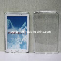 منتج جديد لـ Samsung Galaxy Tab 3 P3200 7.0 ممتلئ علبة شفافة ناعمة من الكمبيوتر اللوحي TPU