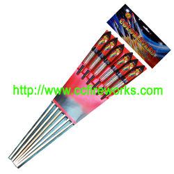 """0.8 """" 색깔은 주연시킨다 로켓트 불꽃 놀이 (RO2401)를"""