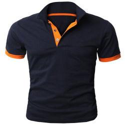 Camicia 100% di polo del Mens del cotone di abitudine