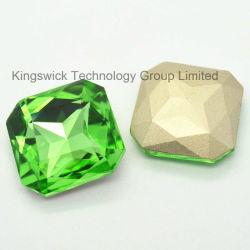 Cucire su Square Crystal Fancy Stone