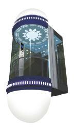 Glazen residentiële Observation Lift voor de markt