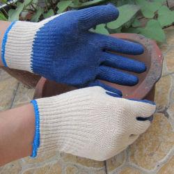 Gants en latex de l'économie de la sécurité de feux de croisement Palm gant de travail de qualité