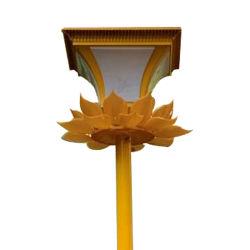 Solar Jardín Villa de las lámparas de iluminación LED Iluminación lámpara de polo de la Calle Jardín en un precio de hierro fundido del sensor de iluminación fuera de la red de luz de los productos de ahorro de energía