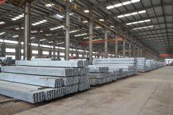 Q235B C Canal d'acier galvanisé avec 6m de longueur