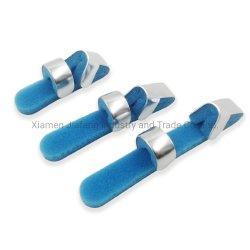 Orthopedic Foam Padded Aluminum F Type Finger Fracture Splint for 응급 처치