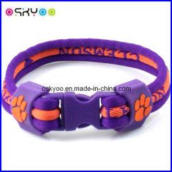 Ncaa Tigres Clemson University Ropetitanium Sport pulseiras de iões de energia