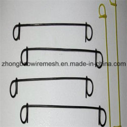 Construção de alta qualidade de corte de ferro de retenção de Encadernação Recozimento Preto /Fio de ligação em loop