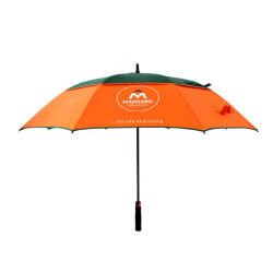 طباعة شاشة الحرير بمظلة جولف فيبرزجاجية مستقيمة مقاومة للرياح 8K