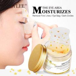 Golden Eye Mask Osmanthus gel de collagène Masque Yeux la peau du visage Soins cercle foncé raffermissant de levage déposer le sérum 50pcs