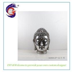Statue de Bouddha de vente chaude de la tête de la résine de Jardin Décoration d'artisanat