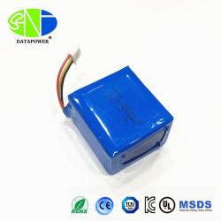3.7V Pak 3p Lipo van de Batterij van Li van het Lithium Costomized van 6000mAh het Ionen
