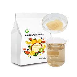 100% soluble en agua fertilizante orgánico aminoácido 40% al 80%