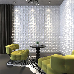 3D 장식 PVC 벽판 플라스틱 천장 보드를 예술적으로 디자인