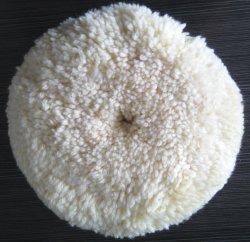 유리 그리기를 위한 백색 모직 거친 편평한 닦는 바퀴