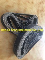 炭化ケイ素の研摩剤はTy486 533X30 mmのベルトをひく紙やすりで磨くベルトにベルトを付ける