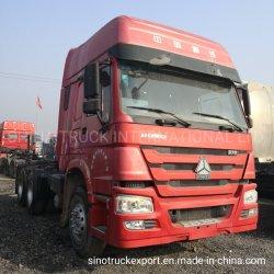 Sinotruk HOWO 371HP utilisé le tracteur de camions de tête