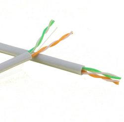 cavo della rete di torsione del calcolatore del cavo Cat5e del conduttore del CCA del Cu 2pairs