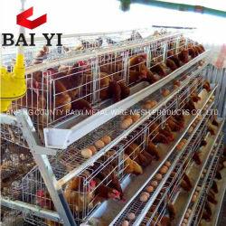 Gabbia di batteria dell'azienda agricola dell'India per il pollame di strato da vendere