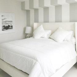 商業家具の現代中国白いカラーファブリックおよび管理の純木のホテルの家具