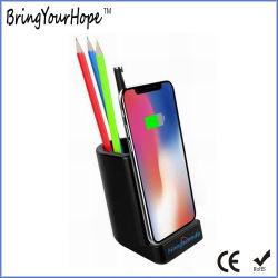 10W Suporte de caneta Shape Carregador sem fio com portas USB (XH-PB-279)