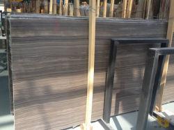 Marmo di legno del Brown del grano di Obama per la lastra/controsoffitto/Tabella/ufficio/decorazione domestica/mattonelle di ceramica/pavimento/della stanza da bagno parete