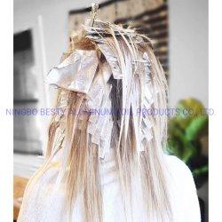 Láminas de pop-up, Segbeauty hojas de papel de aluminio para el cabello, coloración del cabello Pre-Cut relieve profesional destacando las hojuelas para el blanqueamiento Balayage Peluquería