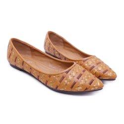 Новые поступления национальных женщина обувь указал Toe Богемского плоские указал леди обувь