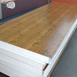 O de madera color especial Pared paneles sándwich EPS precio (950)