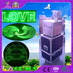 einzelner Grün-Laser der im Freienanimation-1W-20W