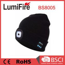 LED SMD recarregável de lítio com polímero Hat Light com Bluetooth