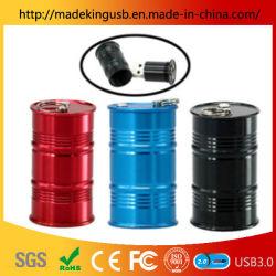 パーソナリティオイルバレルメタル USB フラッシュドライブ / アルミ合金丸型コラム USB スティック