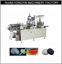 Couvercle en plastique automatique PP Boisson chaude couvercle de la Coupe du thermoformage Making Machine de formage