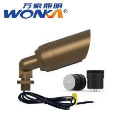 На заводе оптовой твердых латунные светодиодный индикатор акцентом на сад или на заднем дворе освещения
