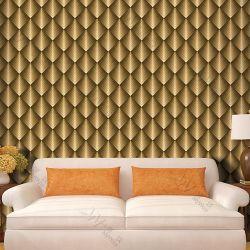 Distribuidor de papel de pared vinilos 3D de papel tapiz para la decoración del hogar