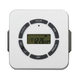 2 Anschluss-elektronischer Innentimer-amerikanische Digital-Timer-Kontaktbuchse