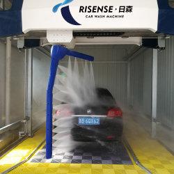 Braço único 360 touchless car wash máquina com sistema de secagem