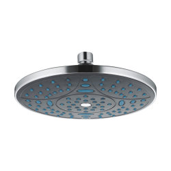 Sélectionnez Ordinateur de poche de l'enregistrement de l'eau de la tête de douche à LED