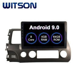 Multimedia van de Auto van Witson de Androïde 9.0 voor Grote Scherm van de Flits van de RAM van Honda 2006-2011 het Burger (LHD) 4GB 64GB in de Speler van de Auto DVD