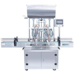 工場直接販売法水4ヘッドびんペット水飲料ファイリングキャッピングの分類機械