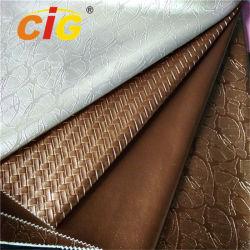 Il modo metallico imprime i cuoi tessuti del sofà del sacchetto dello struzzo