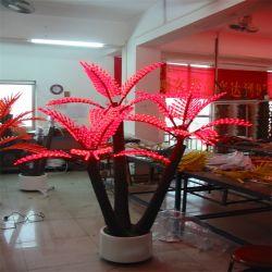 Le décor extérieur imperméable Paysage de vacances d'ornement Palm Tree d'éclairage à LED