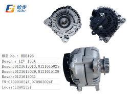 OE 0121615013 12V 150um alternador para a VW